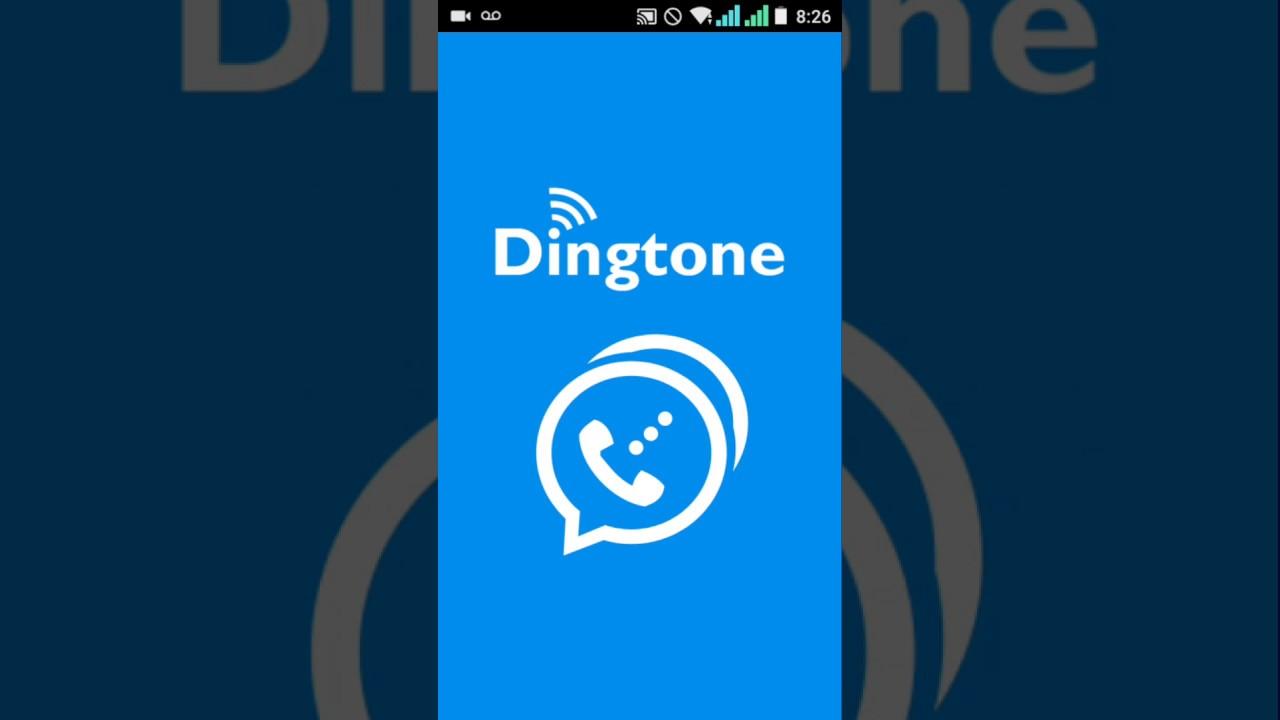 Dingtone: стандартная регистрация и по виртуальному номеру телефона