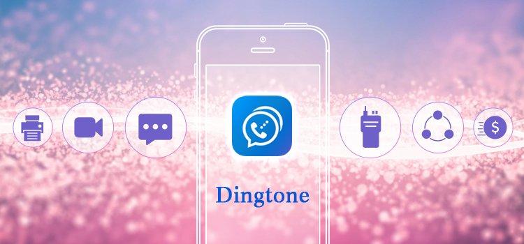 Регистрация в приложении Dingtone