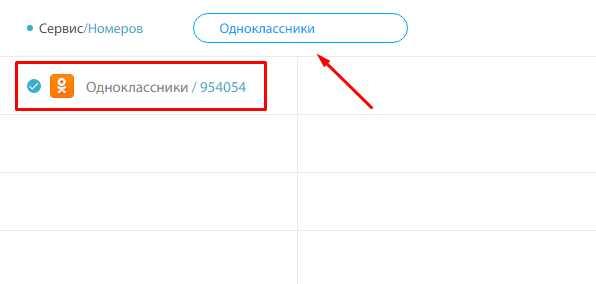 Нати виртуальный номер для Одноклассники