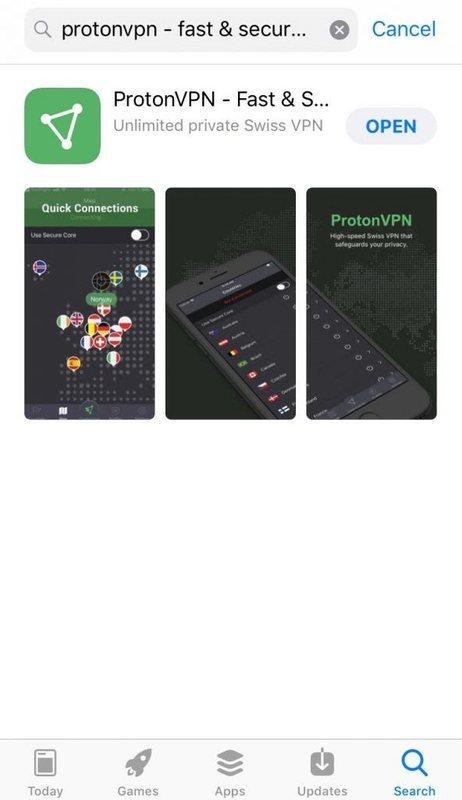 Программа ProtonVPN
