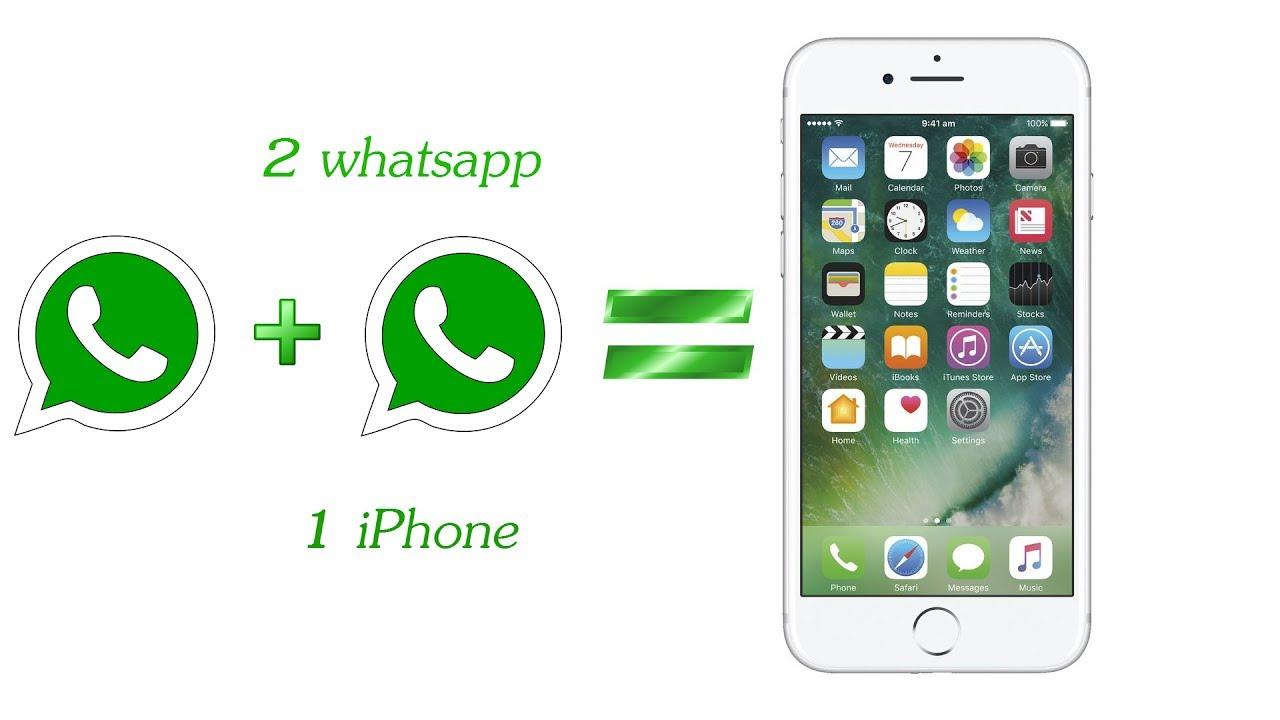 Как установить два аккаунта whatsapp на одном телефоне iphone