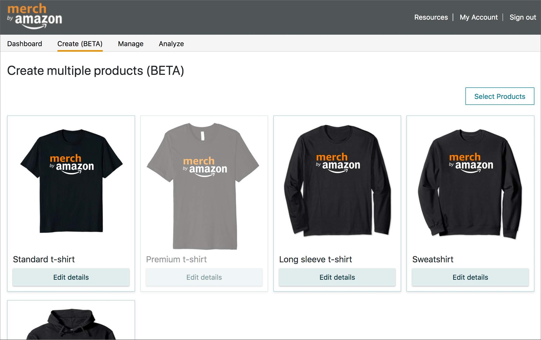 Заработок на Merch by Amazon