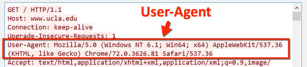 user agent windows