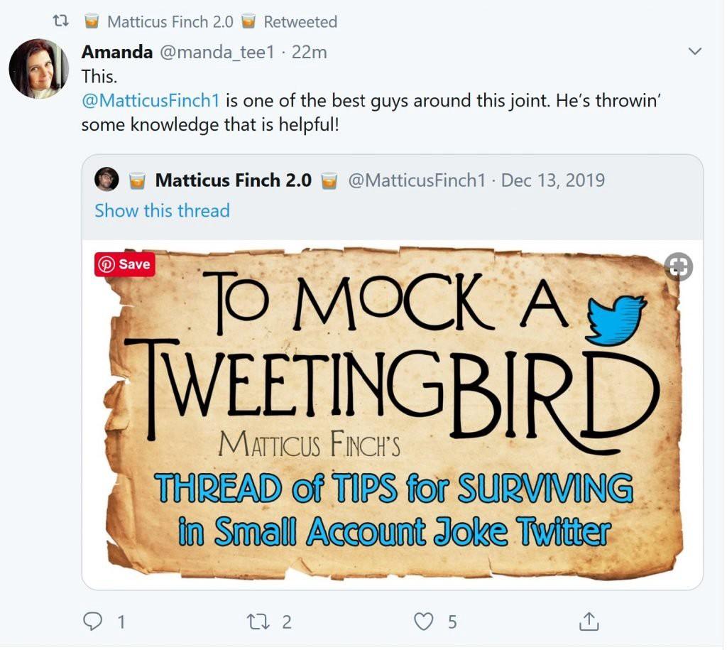 Продвижение Twitter с помощью ретвитов