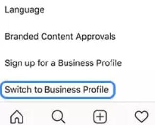 Связать бизнес-аккаунт инстаграм со страницей Facebook