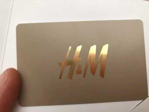 Дисконтная карта HM: получение