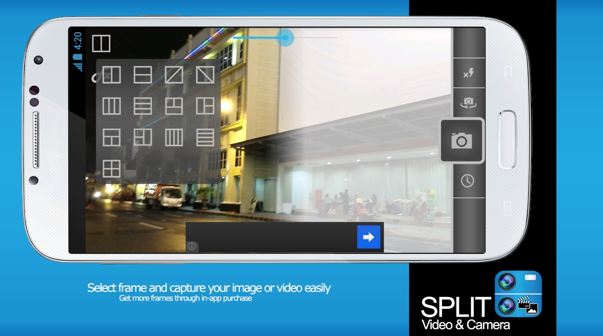 Split Video позволяет загрузить длинное видео в инстаграм