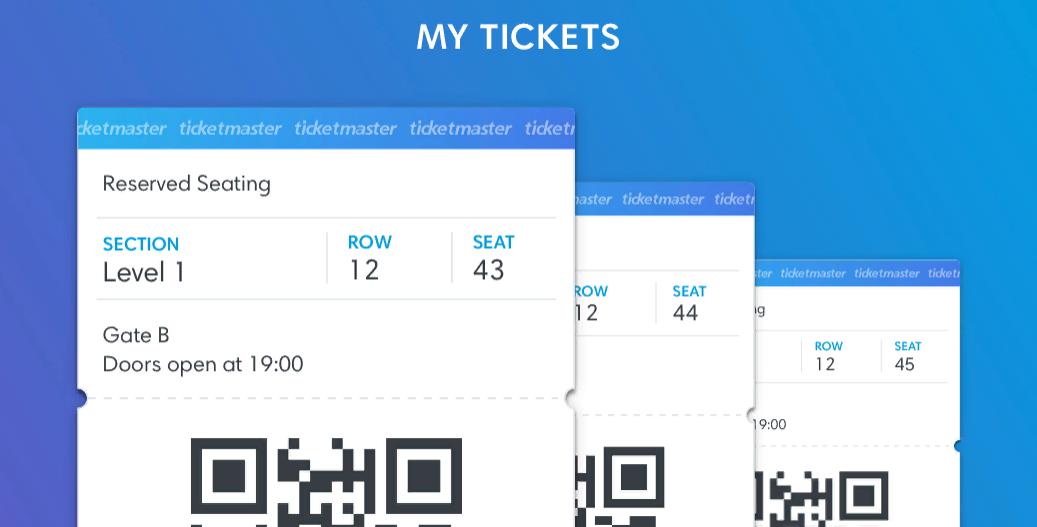 Ticketmaster — самая крупная из существующих на сегодня систем, для покупки электронных билетов