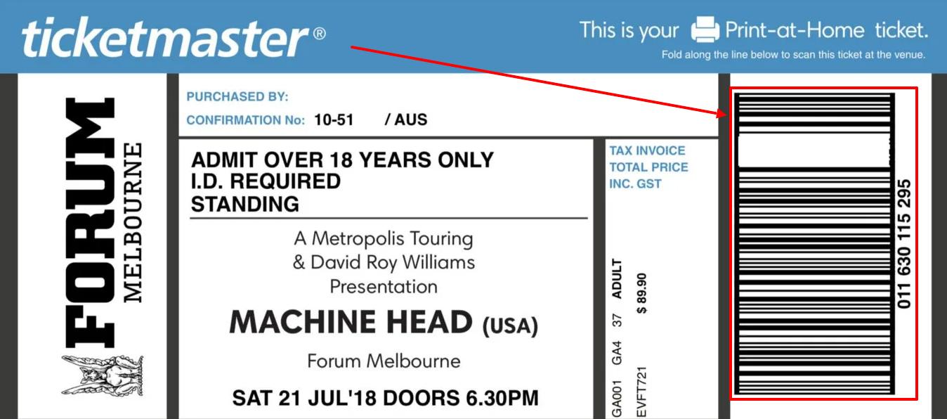 Как купить билет на ticketmaster com
