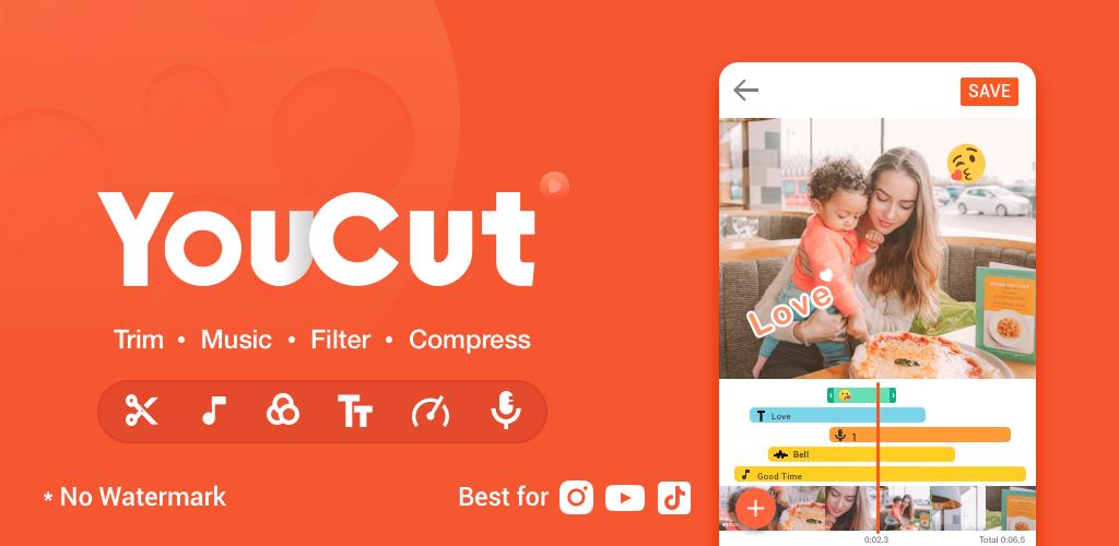 Youcut поможет сделать нарезку роликов