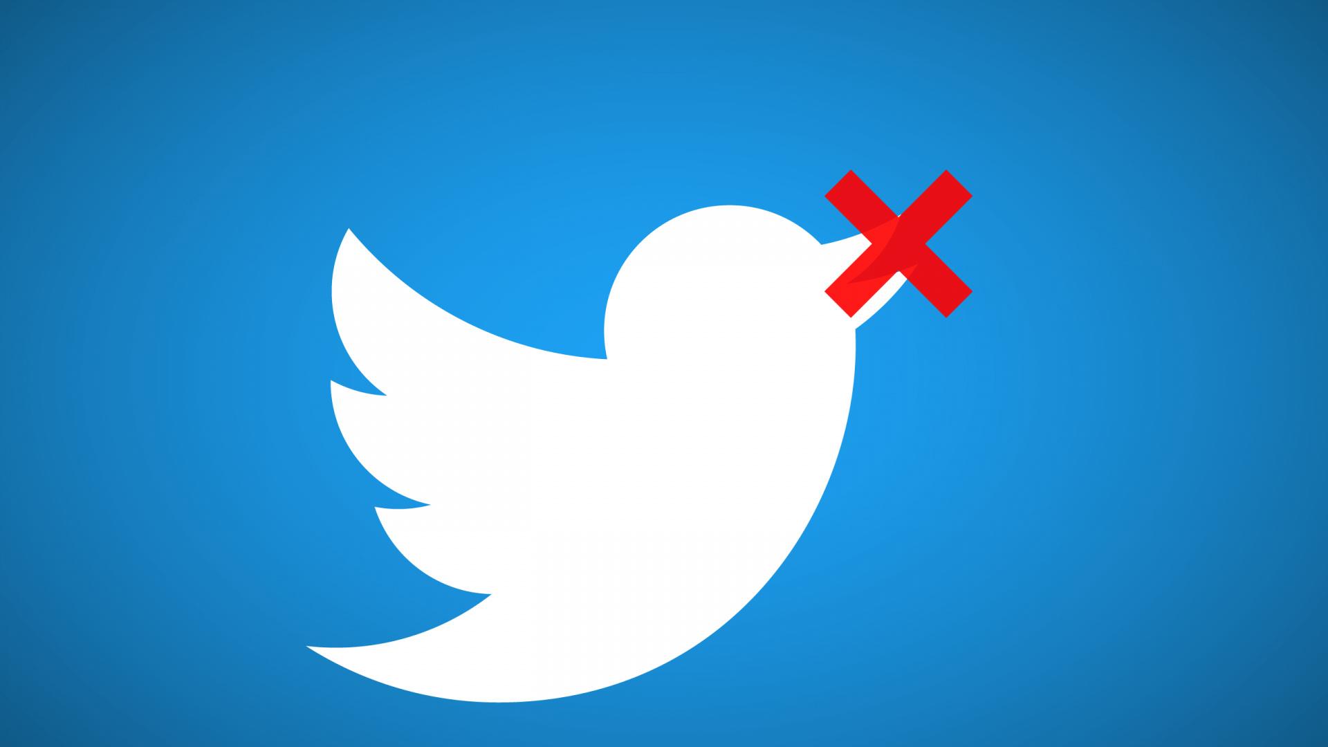 замедление твиттер