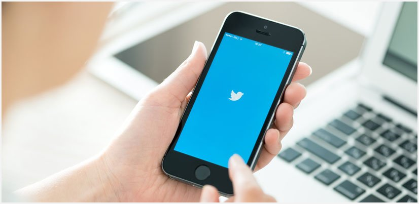 Find by phone number Twitter on a mobile phone
