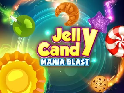 Viber play games - Jelly Candy Mania Blast