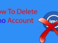 Как удалить аккаунт имо навсегда