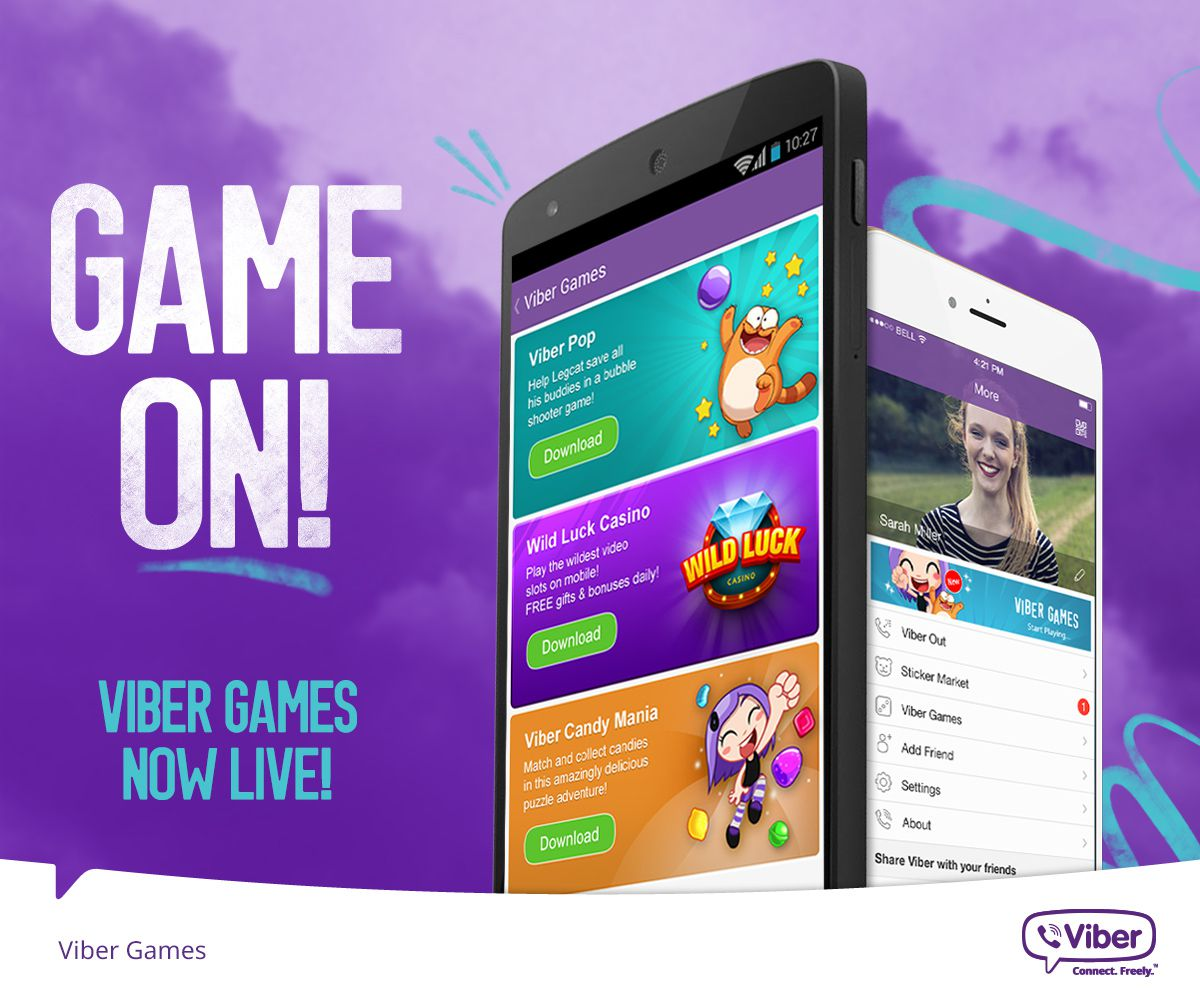 A review about the most popular Viber online games